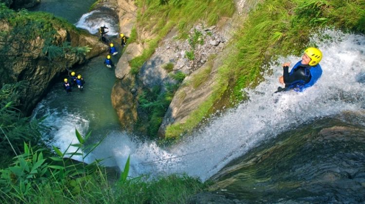 Image result for canyoning in nepal