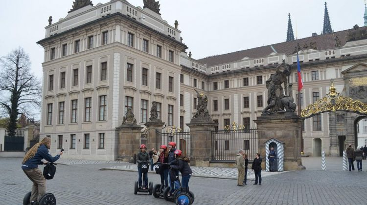 Castle District Segway Tour in Budapest