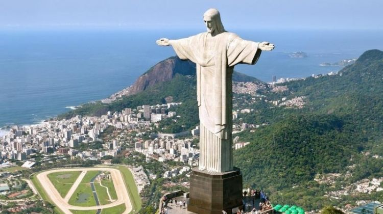 Christ The Redeemer & Sunset At Sugarloaf