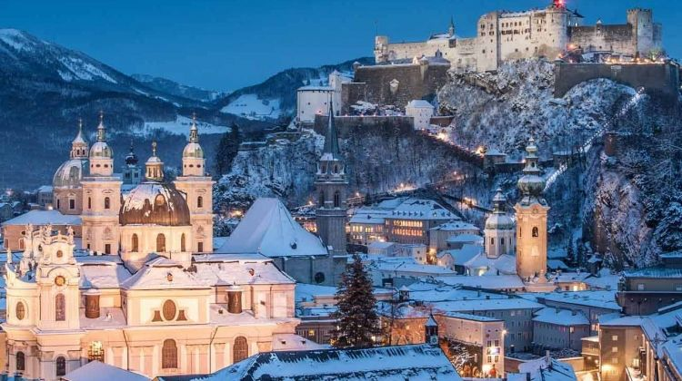 Christmas In Austria.Christmas Markets Of Austria Germany Switzerland
