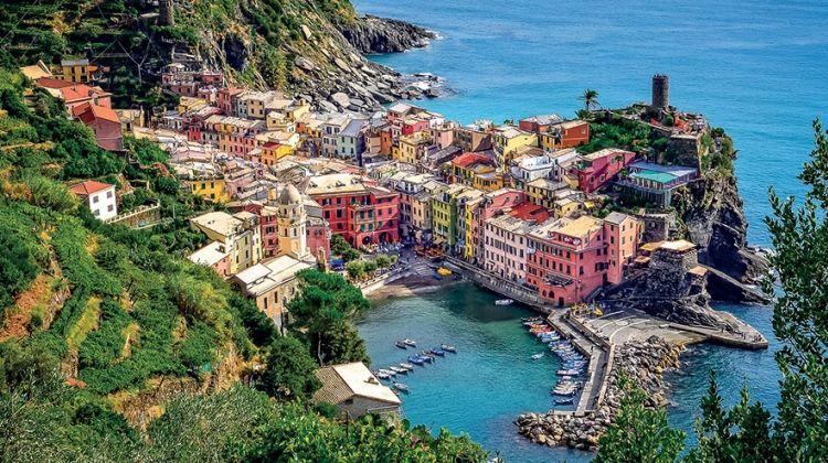 Cinque Terre & Portovenere Tour From Montecatini