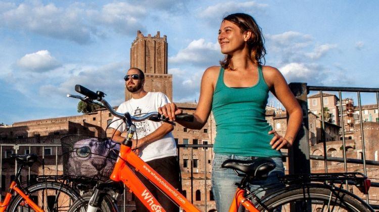 Civitavecchia Shore Excursion To Rome For A Bike Tour