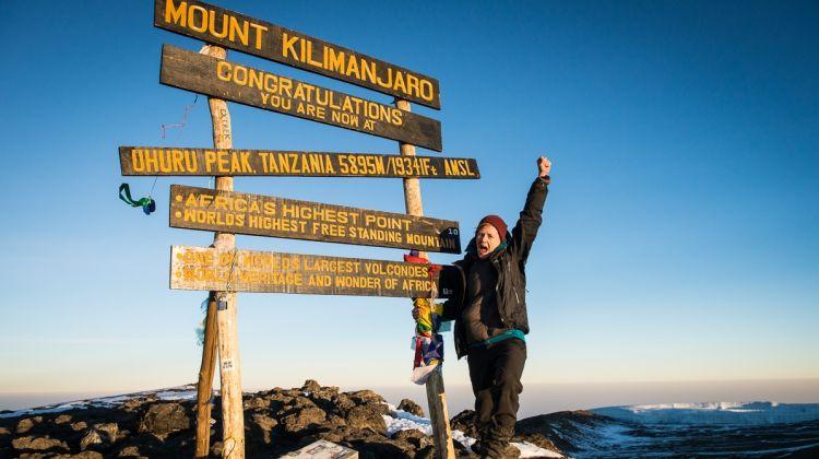 Climbing Mount  Kilimanjaro 6-day Marangu Route