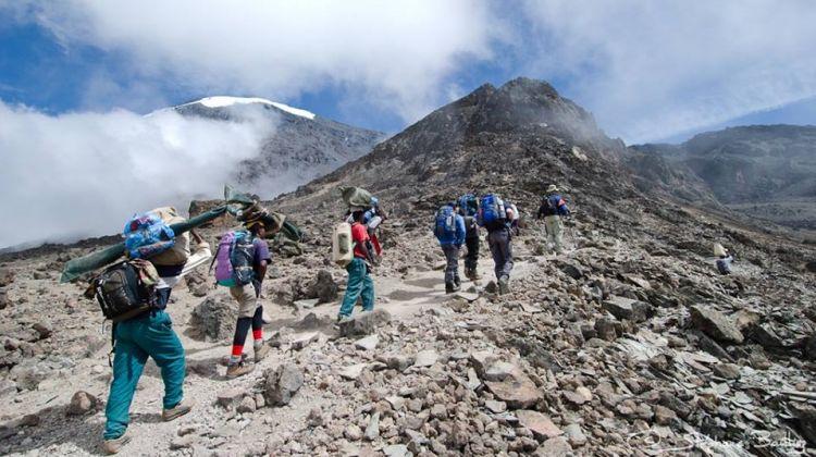 Climbing Mount Kilimanjaro 7Days Rongai Route