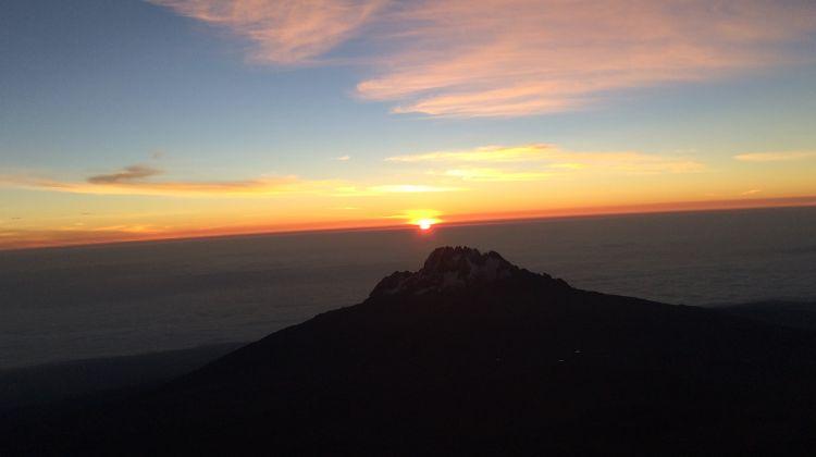Climbing the Mt. Kilimanjaro Marangu Route