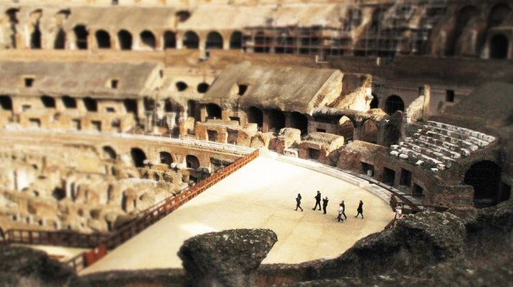 Colosseum Underground Tour — Max 12 People