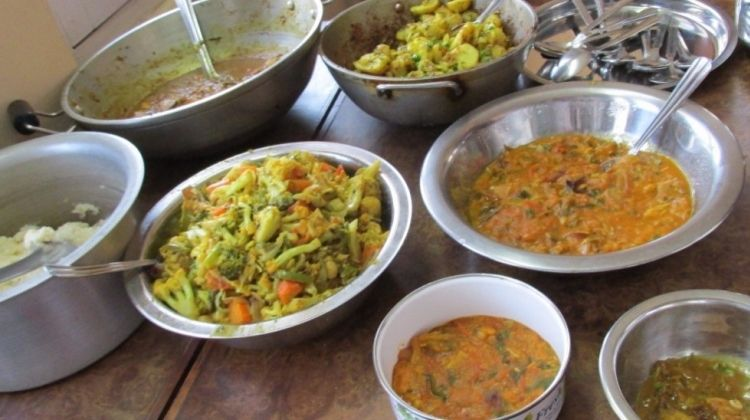 Cooking in Kathmandu