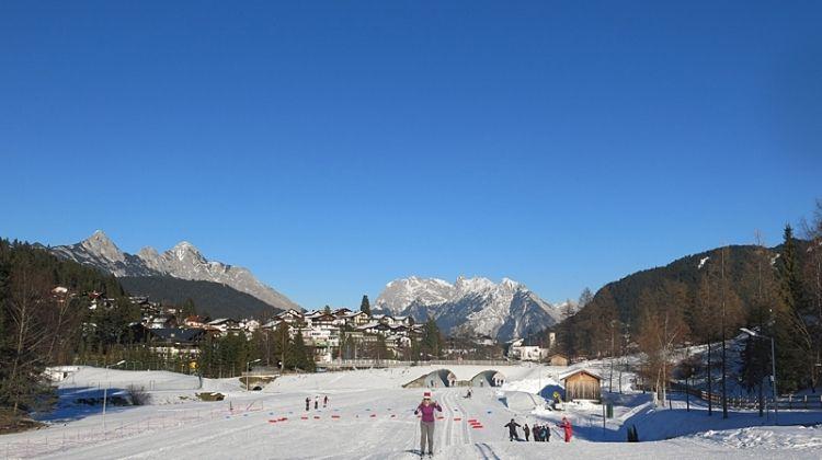 Cross-country Skiing in Seefeld