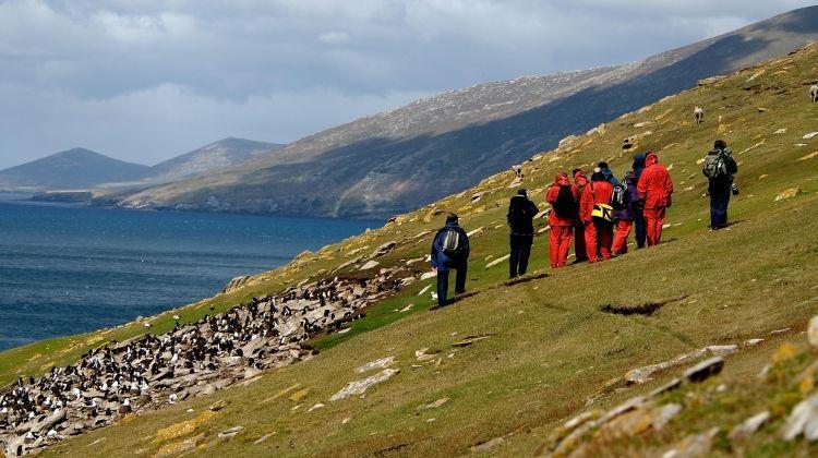 Crossing the Circle via Falklands & South Georgia from Ushuaia