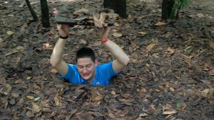 Cu Chi tunnels half day group tour