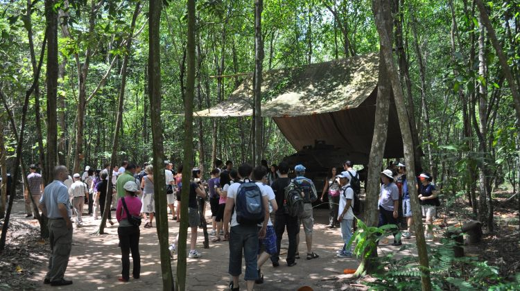 Cu Chi Tunnels Half-day Joining Tour