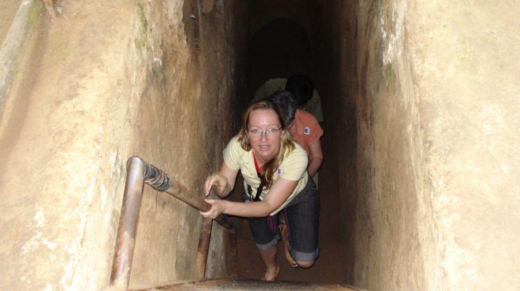 Cu Chi tunnels half day private tour