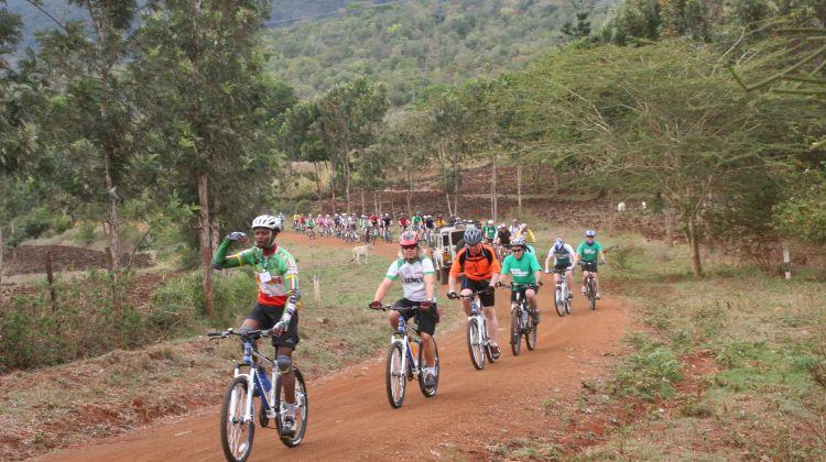 Cycle Kilimanjaro Shira Plateau