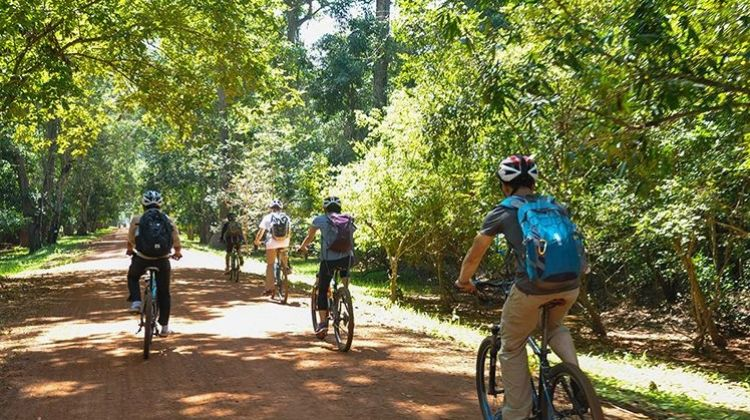 Cycle the backroads of Kampot