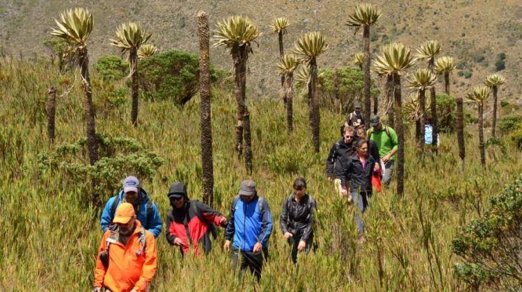 Day hike near Bogotá
