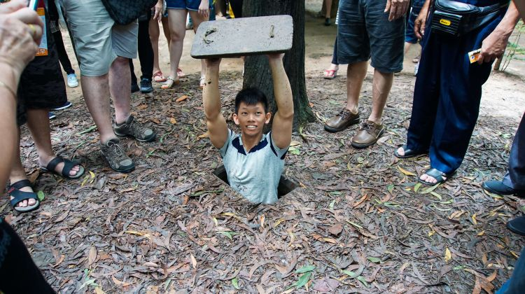 Deluxe Cu Chi Tunnels Tour