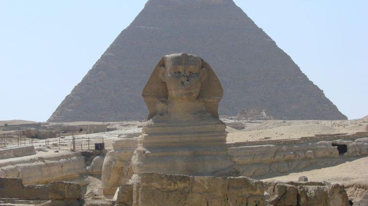Desert Quad biking around the Giza pyramids