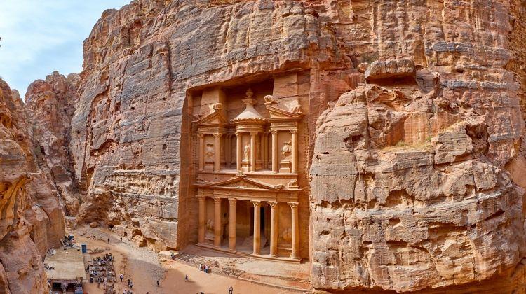 Desert to Dead Sea in Jordan