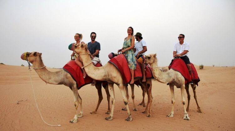 Desert Trek on Camel-Back & Arabian Breakfast
