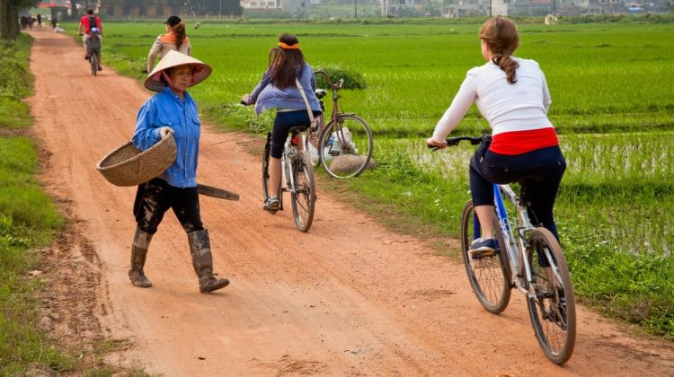 Discover Co Loa Ancient Citadel By Bike