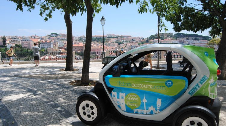 Discover the Old Lisbon in a two Seater Twizy