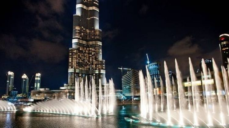 Dubai at night tour with Burj Khalifa ticket