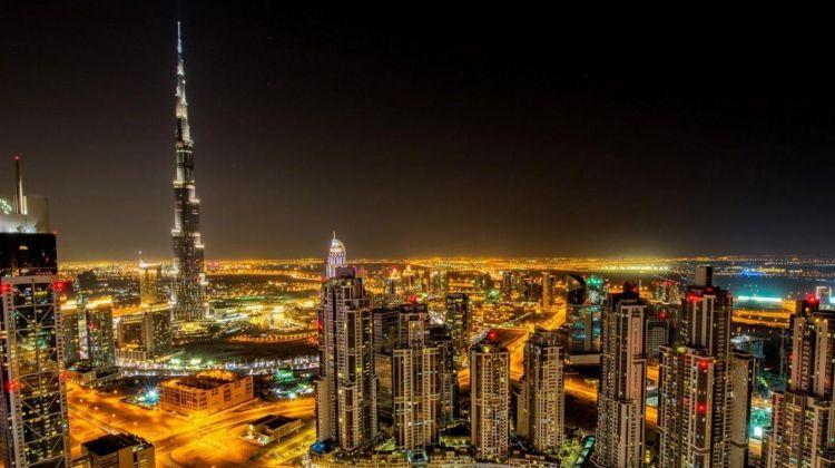 Dubai by Night from Dubai