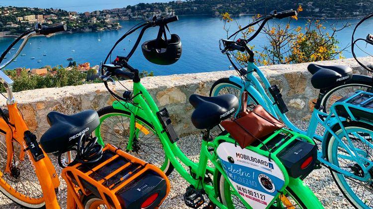 E-bike panoramic tour: Nice - French Riviera