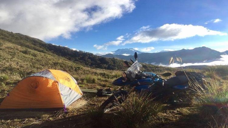 Ecuador Motorbike Adventure Tour