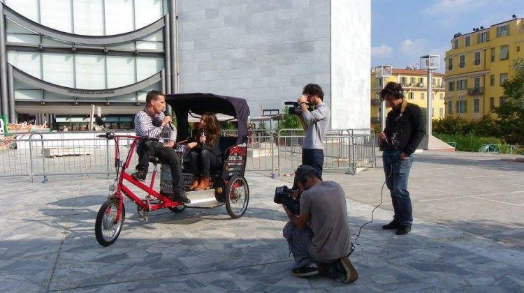 Electric bike city tour