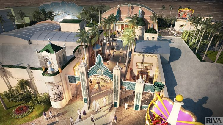 Entry ticket to Bollywood Dubai.