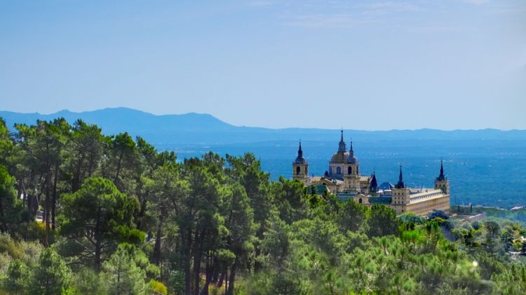 Escorial, Valley Fallen and Toledo from Madrid