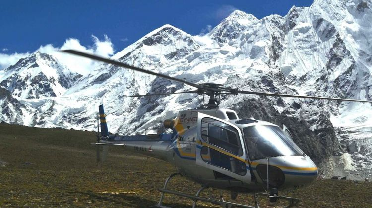 Everest Base Camp on Chopper
