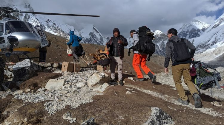 Everest Base Camp Trek With Helicopter Return to Lukla