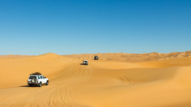 Experience of the Ice with a Desert Safari from Dubai