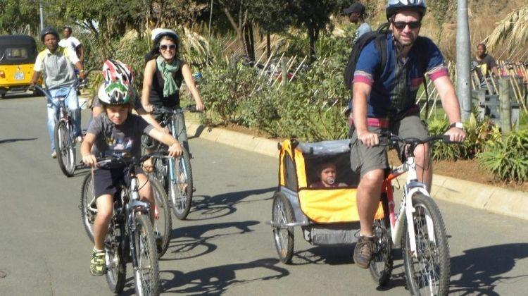 Explore Jo'berg On A Bike