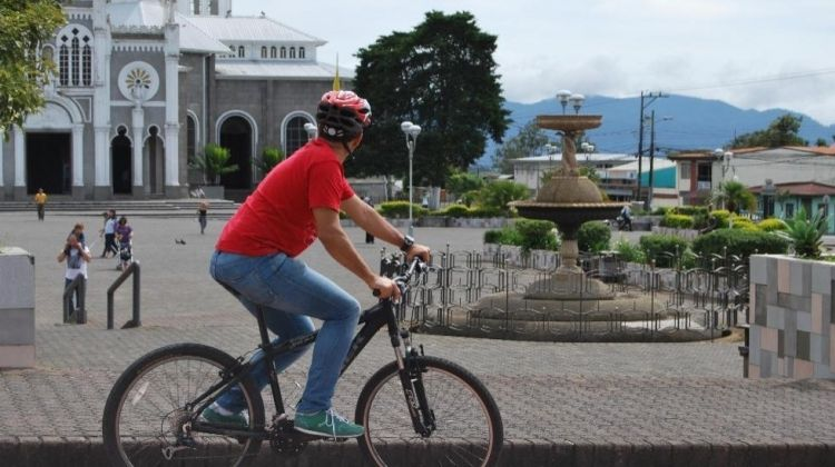 Exploring Cartago By Train and Bike