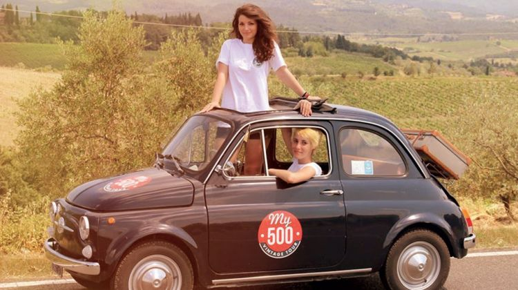 Fiat 500 Vintage Tour - Chianti Roads from Florence