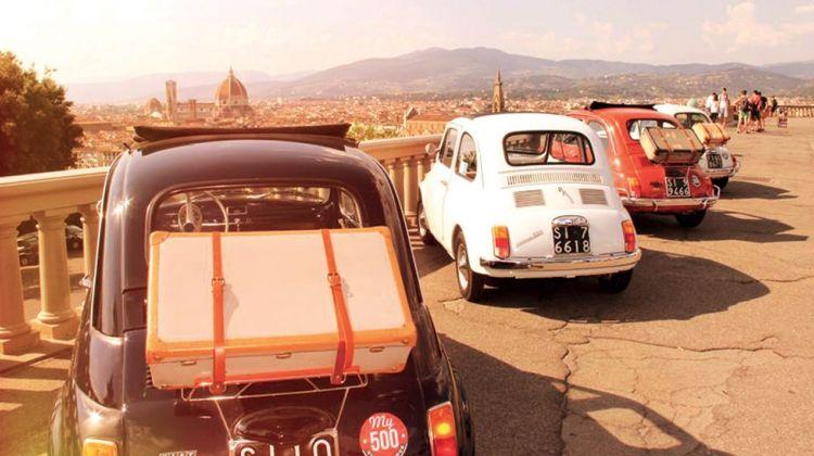 Fiat 500 Vintage Tour - Florence Panoramic Tour