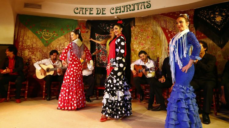 Flamenco Masterclass + Flamenco Show at Café De Chinitas