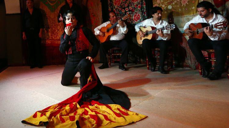 Flamenco Masterclass + Flamenco Show at Café De Chinitas