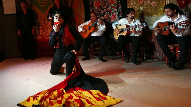 "Flamenco Show at ""Café De Chinitas"""