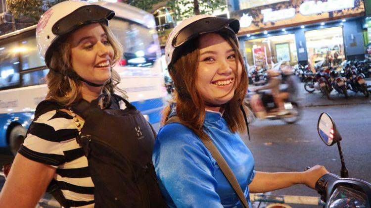 Food Adventure with Female Bikers