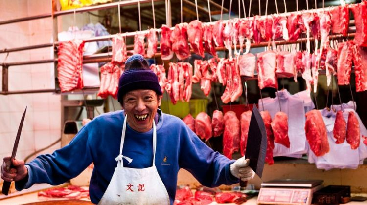 Food Market & Chinese Diet Tour