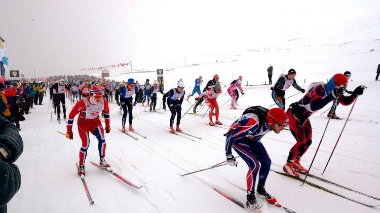 Fossavatn Ski Race, Iceland