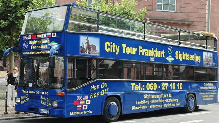 Frankfurt Hop on Hop off Tour