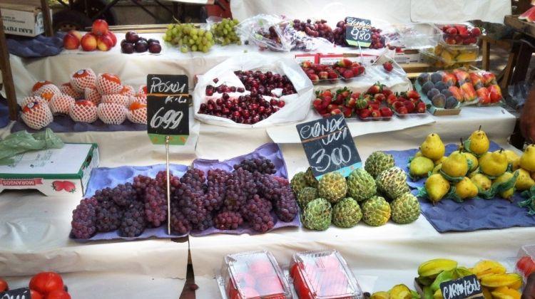 Fruit Tasting Tour at the Market