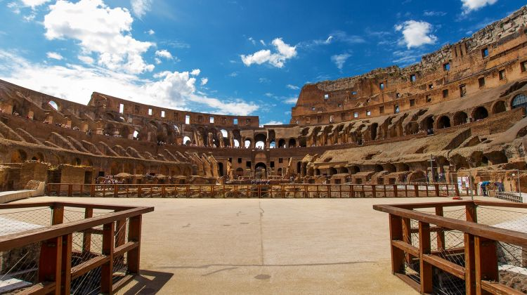 Gladiator S Gate Arena Floor Colosseum Special Access By Walks