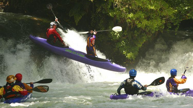Grade 5 Tandem Kayaking