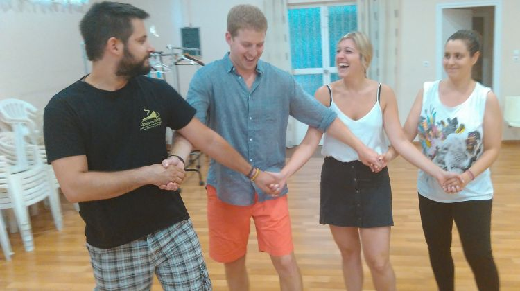 Greek Dance Lesson with Dinner